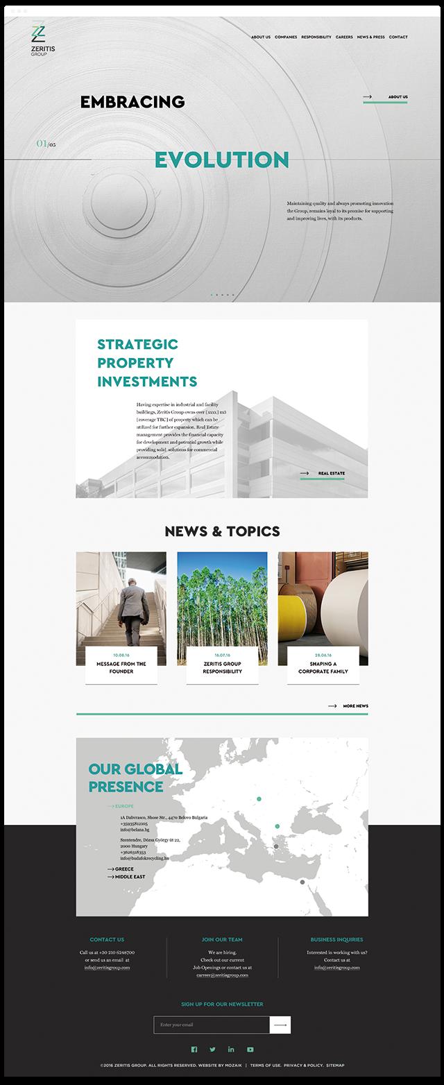 zeritis group paper industry
