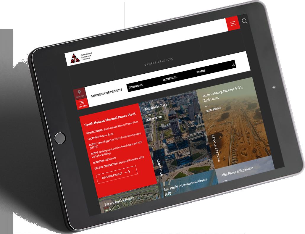 CCC - Mozaik Corporate Website